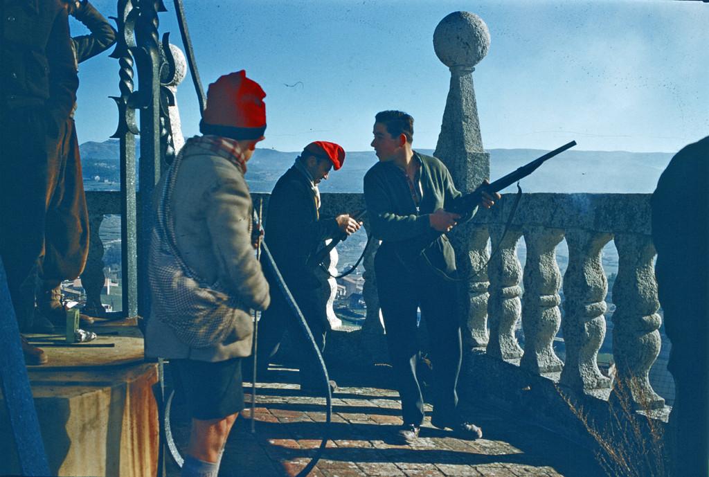 Oleguer Font Festa del pi 1958